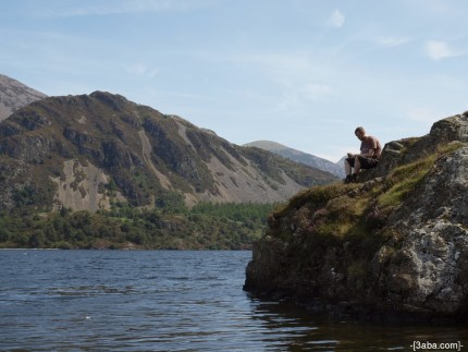 Me on a rock - Ennerdale water