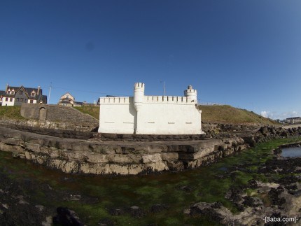 Old bath house, Enniscrone, West ireland