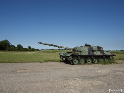 Tank 2 - Manby show ground, Lincolnshire