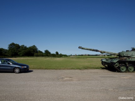 Tank 3 - Manby show ground, Lincolnshire