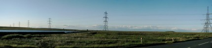 Pylons, Blackstone edge, West Yorkshire