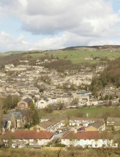 Hebden Bridge - Panoramic image