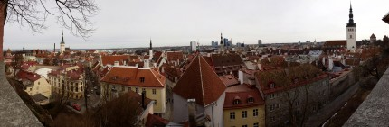 Tallin, Estonia - Panoramic image