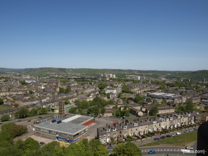 View from Wainhouse tower, Halifax