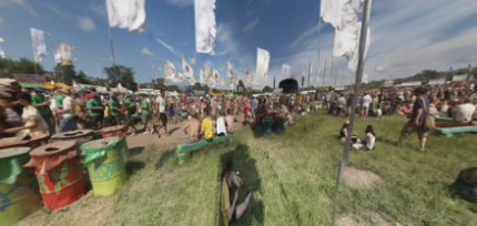 West Holts, Glastonbury 2010 - 360 pano