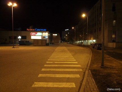 Zebra crossing, Tallin, Estonia